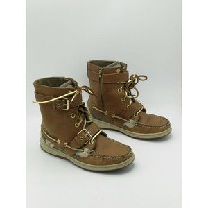 Sperry Top Sider Huntley Sahara Leather t Boots